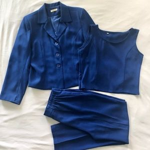 3 pc. Work Blazer with Matching Top and Pants